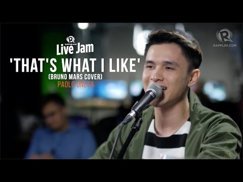 'That's What I Like' Bruno Mars cover – Paolo Onesa