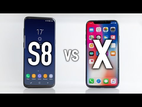 Apple iPhone X vs Galaxy S8 - Which One Should You Buy?