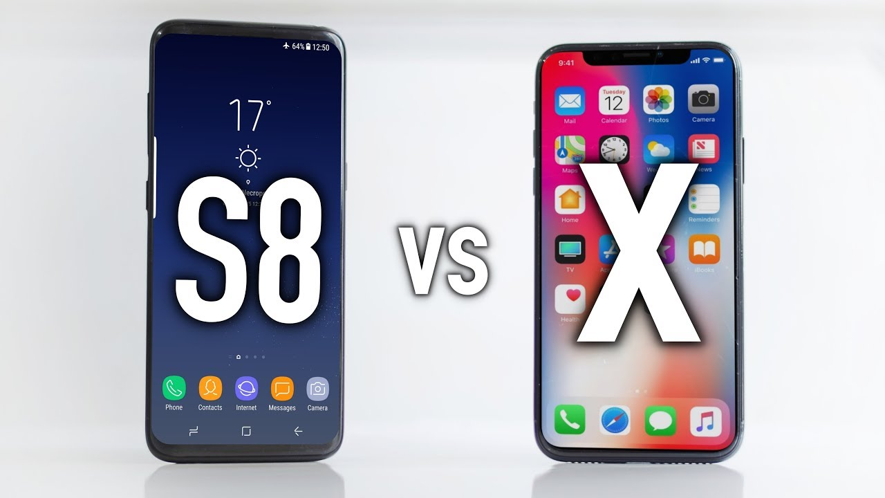 apple iphone 1 apple iphone x vs galaxy s8 which one should you buy 10092