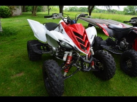 2011 Yamaha Raptor 700r Walk Around - YouTube