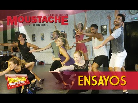 MOUSTACHE, THE RHYTHM MUSICAL - Ensayos en l'Escola Coco Comin