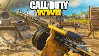 "PPSH THRIVE is the NEW GOD GUN! CALL OF DUTY WORLD WAR 2 ""PPSH THRIVE"" COD WW2 PPSH CLASS SETUP!"