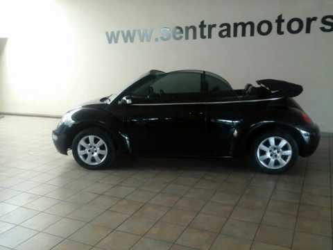 2005 VOLKSWAGEN BEETLE 2.0 CABRIOLET Auto For Sale On Auto Trader South Africa
