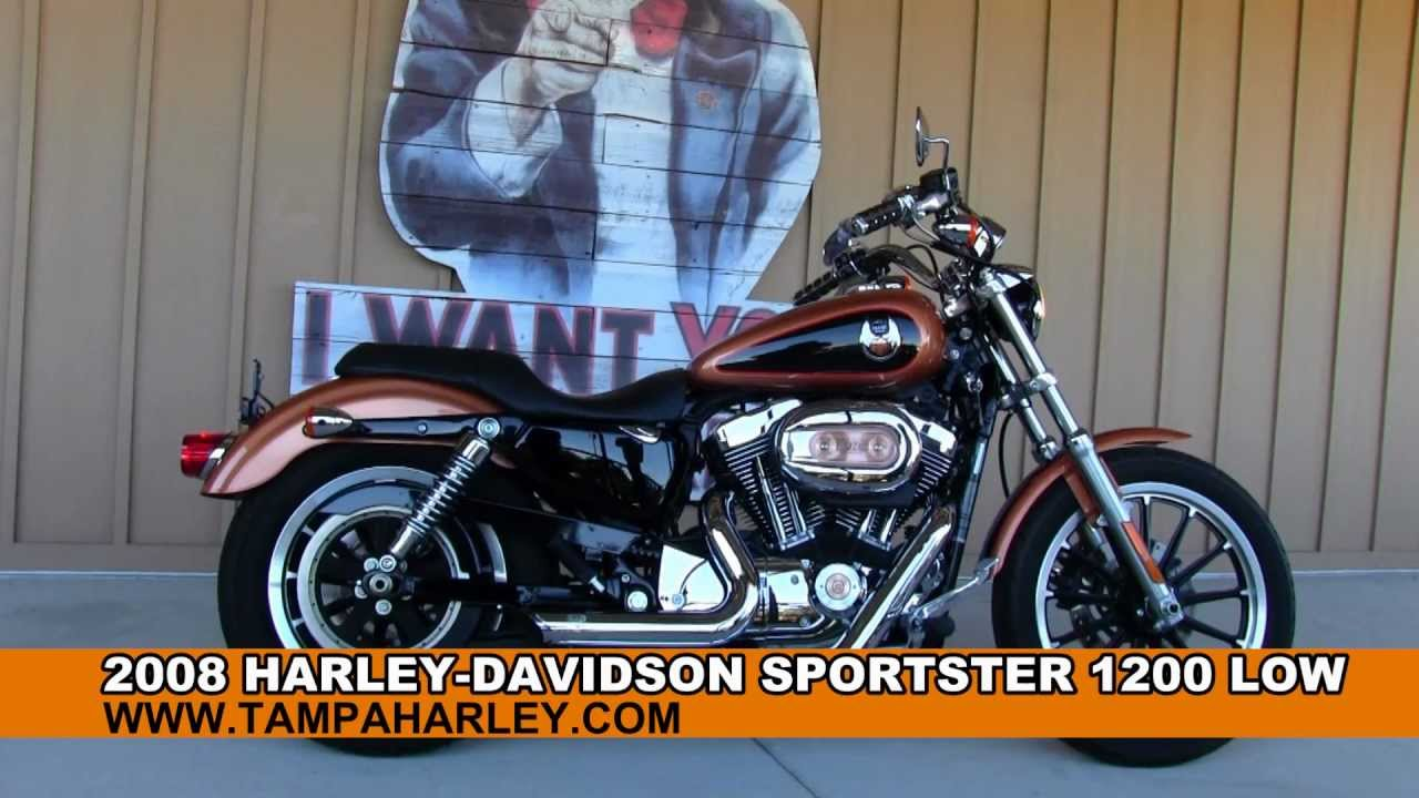 Panama City Harley Davidson >> Used 2008 Harley-Davidson XL1200L Sportster 1200 Low for sale - YouTube