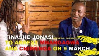 Tinashe Jonasi To Arrest Pres Ed and Vp Chiwengwa