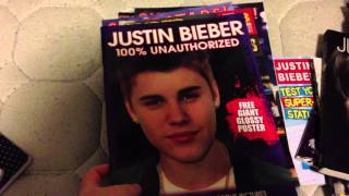 Justin Bieber Books and Magazines