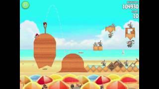 How to Unlock Angry Birds Rio Golden Beachball Episode