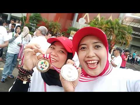 Fun Run Asian Games 2018 Di Palembang - Melihat Venue Jakabaring Sport City