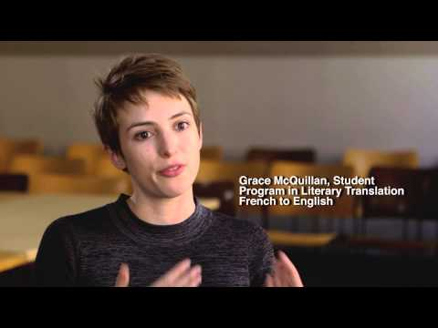 NYU MA in Literary Translation: French to English