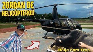 PEGUEI O HELICÓPTERO PARA CONTAR BOI DE RODEIO
