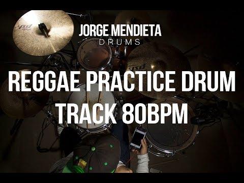 Reggae - Practice Drum Track 80 BPM