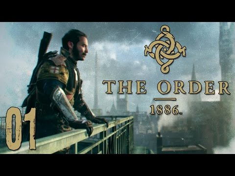 "The Order 1886 Walkthrough Gameplay Ep01 - ""Cutscene Simulator 2015"" 1080p PS4 Exclusive"