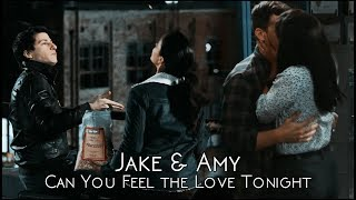 Jake & Amy || Can You Feel the Love Tonight.