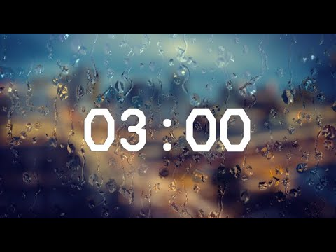3 Minute Timer - Relaxing Music