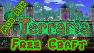 Terraria Mod Apk [Version1.2.1801] | Free Craft Unlimited Health