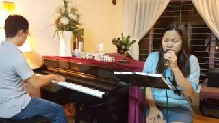 Chưa bao giờ - Acoustic cover - Thuy Nguyen ft. Nguyen Huyen Vu (piano)