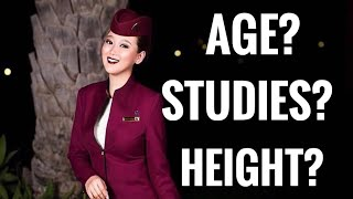 Qatar Airways Cabin Crew Requirements