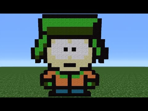 Minecraft Tutorial: How to Make Kyle (South Park)