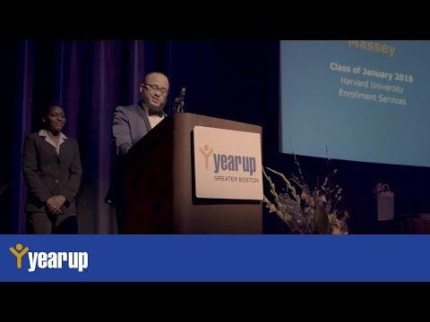 Year Up Greater Boston Graduation January 2018: Jonathan Pena