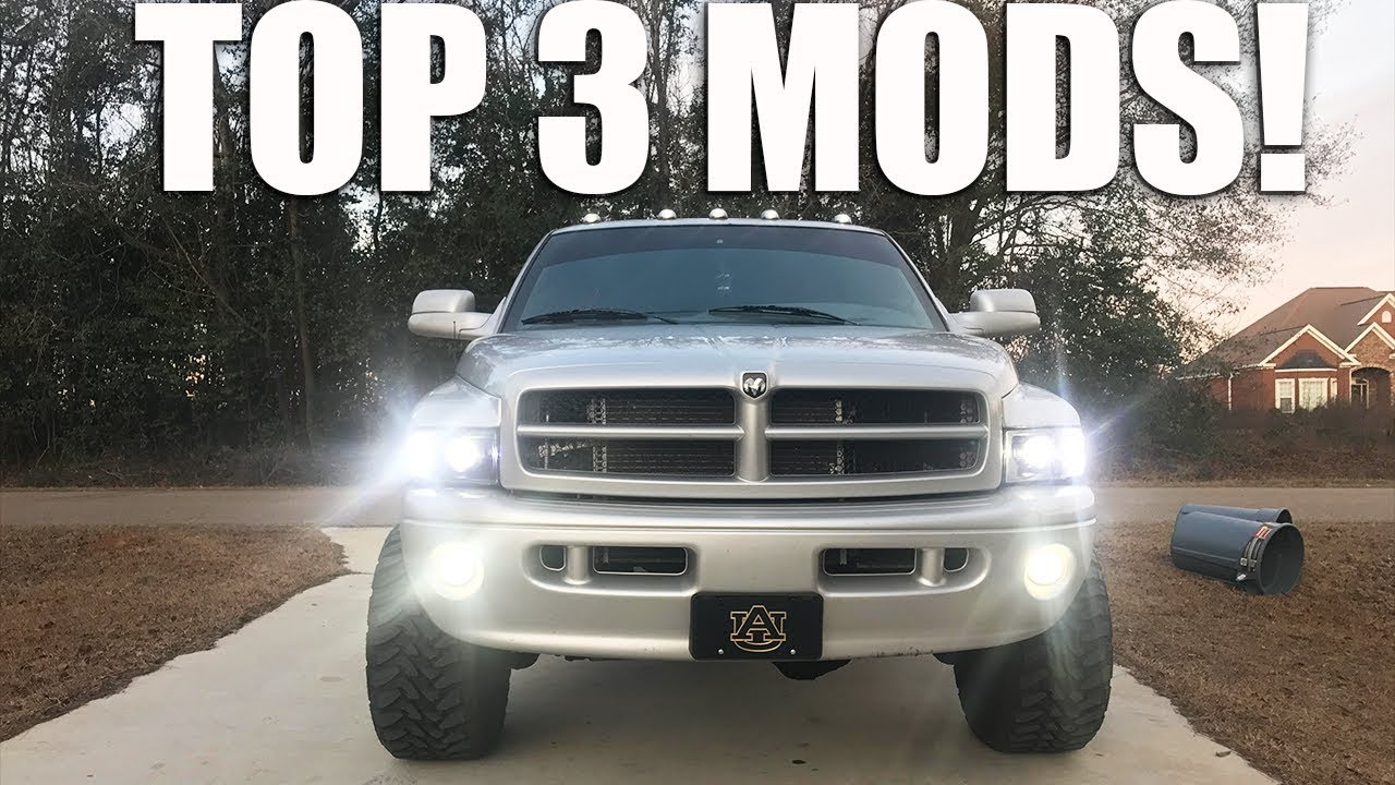 Top 3 Mods Under $10 For a 2nd Gen Dodge Ram