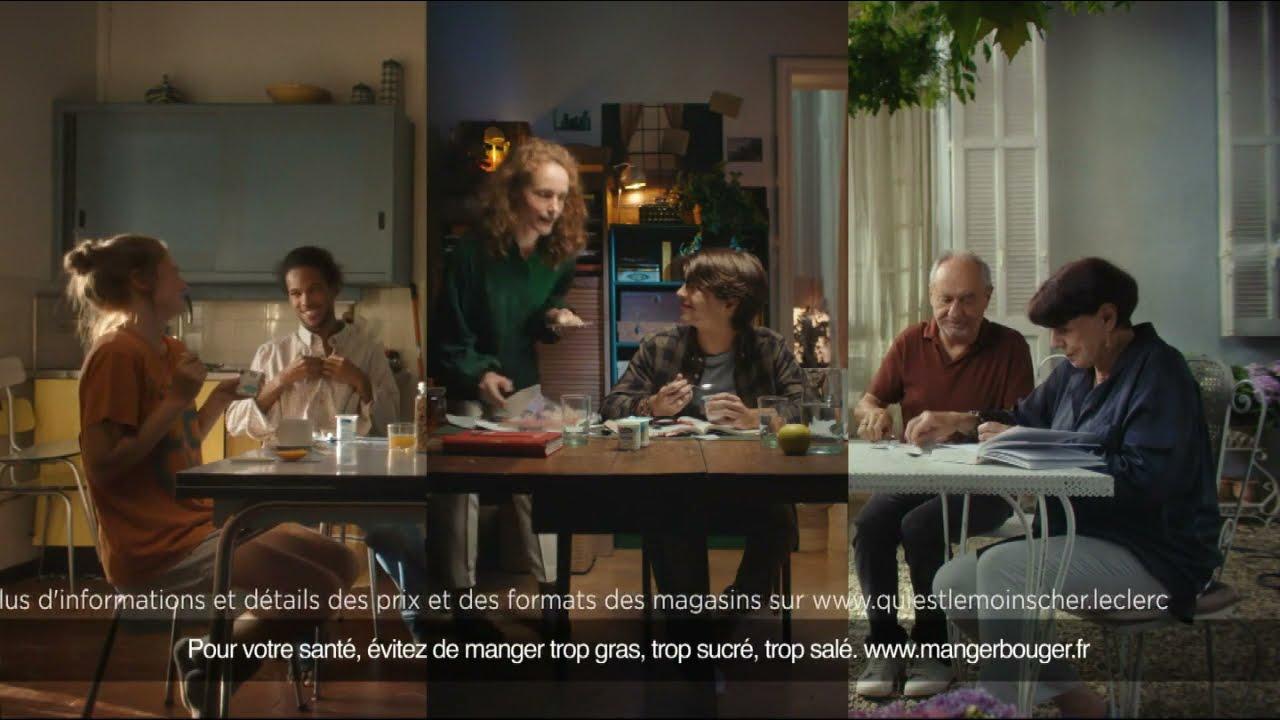 """Musique pub E.Leclerc yaourt 1er prix origine France """"défendre tout ce qui compte pour vous""""  juillet 2021"""