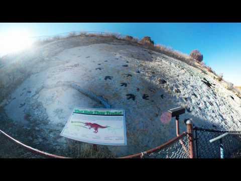 Dinosaur Ridge Dakota SS Trackways  #2 VR