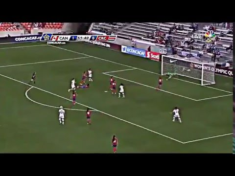 Amazing Goal Canada vs Costa Rica Christine Sinclair