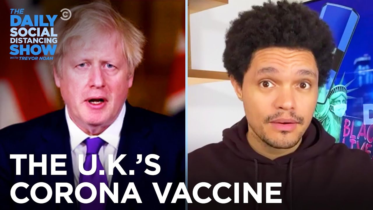 UK's COVID Vaccine, Belgium's Bathroom Rule & Brussels's Sex Party |The Daily Social Distancing Show