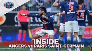 INSIDE - ANGERS vs PARIS SAINT-GERMAIN