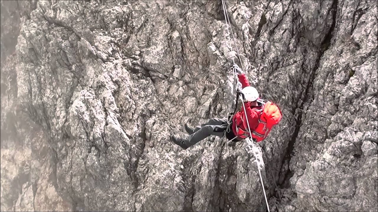 Klettersteig Königsjodler : Königsjodler klettersteig hochkönig alpenverein