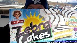 Reed Reviews - Little Debbie Zebra Cakes