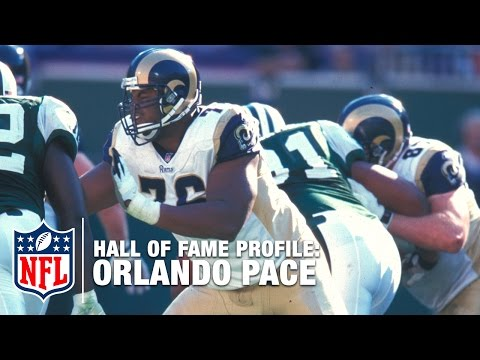 Orlando Pace (Rams, OT) Career Feature | 2016 Pro Football Hall of Fame | NFL