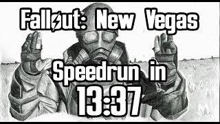 Fallout: New Vegas Beaten in 13:37 (Any% Speedrun)