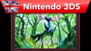 How to draw Xerneas - Pokemon Art Academy (Nintendo 3DS)
