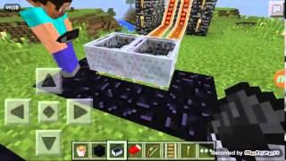 Minecraft - Tren yarışı - Telefon oyunları #2