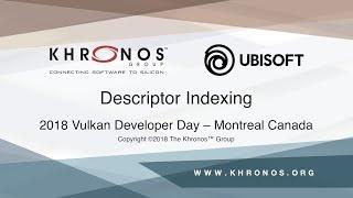 Descriptor Indexing