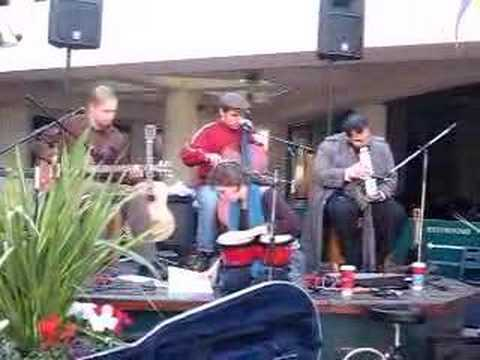 The Rocking Chairs - Outside Cafe - The Zebra Storyteller