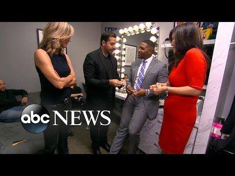 Magician David Blaine performs tricks on 'GMA'