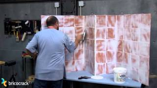 Tapar paredes alicatadas (BricocrackTV)