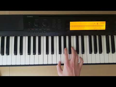 Fm - Piano Chords - How To Play