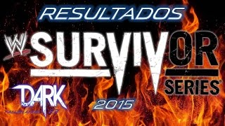 Resultados WWE Survivor Series 2015 Roman Reigns vs Dean Ambrose