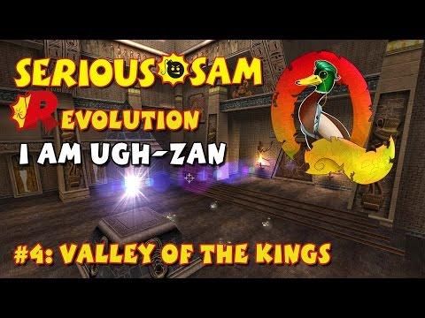 Serious Sam Classics: Revolution FE Walkthrough #4: Valley of the Kings (Commentary)