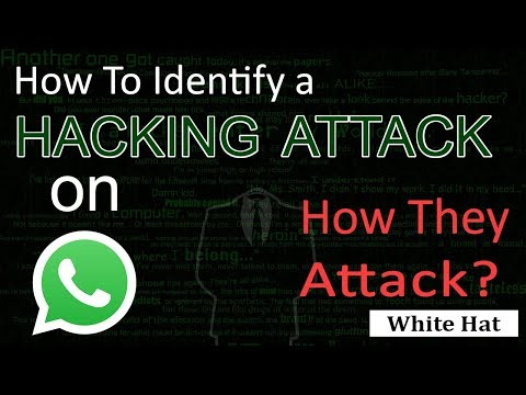 How to Identify a Hacking Attack on WhatsApp  Is Possible to Hack Fully Explained in Urdu Hindi