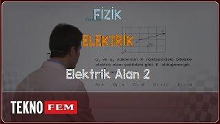 YGS-LYS FİZİK - Elektrik Alan 2