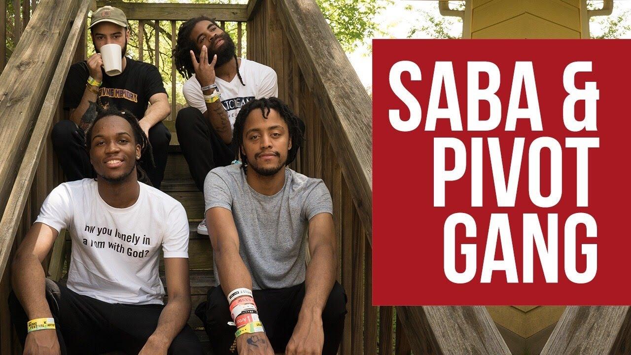 The Pivot Gang Interview: Saba, Joseph Chilliams, Squeak, & Dam Dam