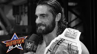 Seth Rollins says he couldn