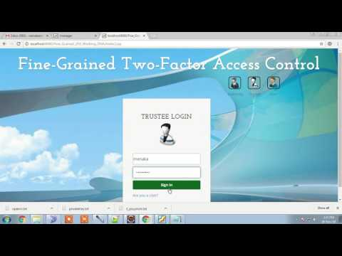 Fine-Grained Two-Factor Access Control for Web-Based Cloud Computing Services