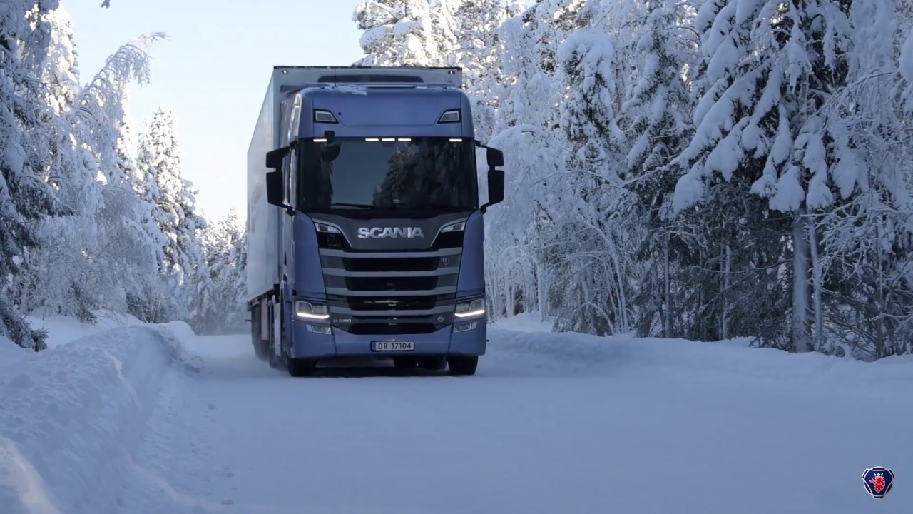 Scania Winter 2017 Youtube