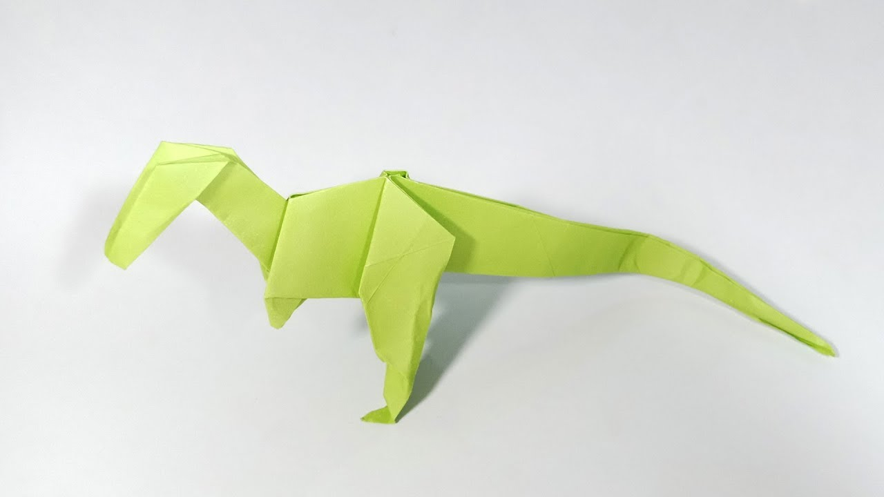 wikiHow — Rawr - Origami Dinosaur! And 2 More Ways to Make... | 720x1280