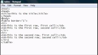 HTML Tutorial 4 - HTML Website Tables & Layouts Tutorial Mp3